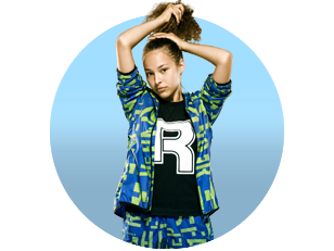 Girl Wearing Reebok Gear