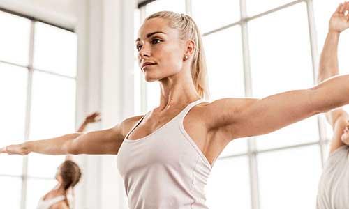 Improve flexibility with BODYBALANCE