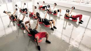 BODYPUMP in action