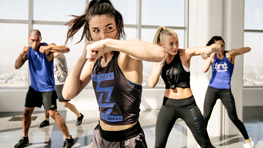 BODYCOMBAT in action