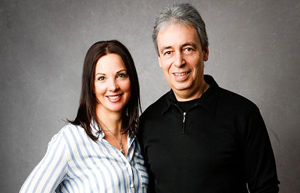Alexandra Martin and Jochen Martin