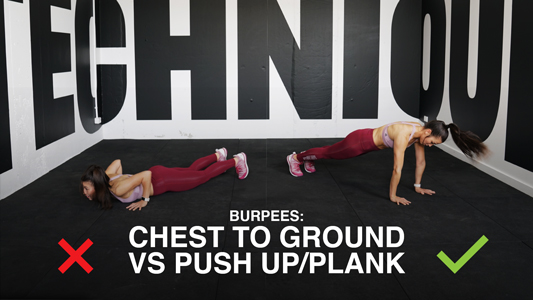 Push up form