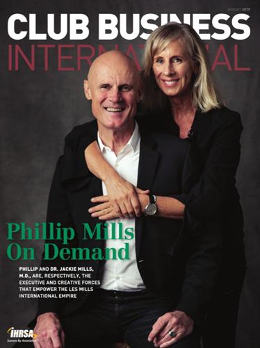 Phillip Mills und Dr. Jackie Mills M.D. auf dem Titelbild der August-Ausgabe des CBI-Magazins.