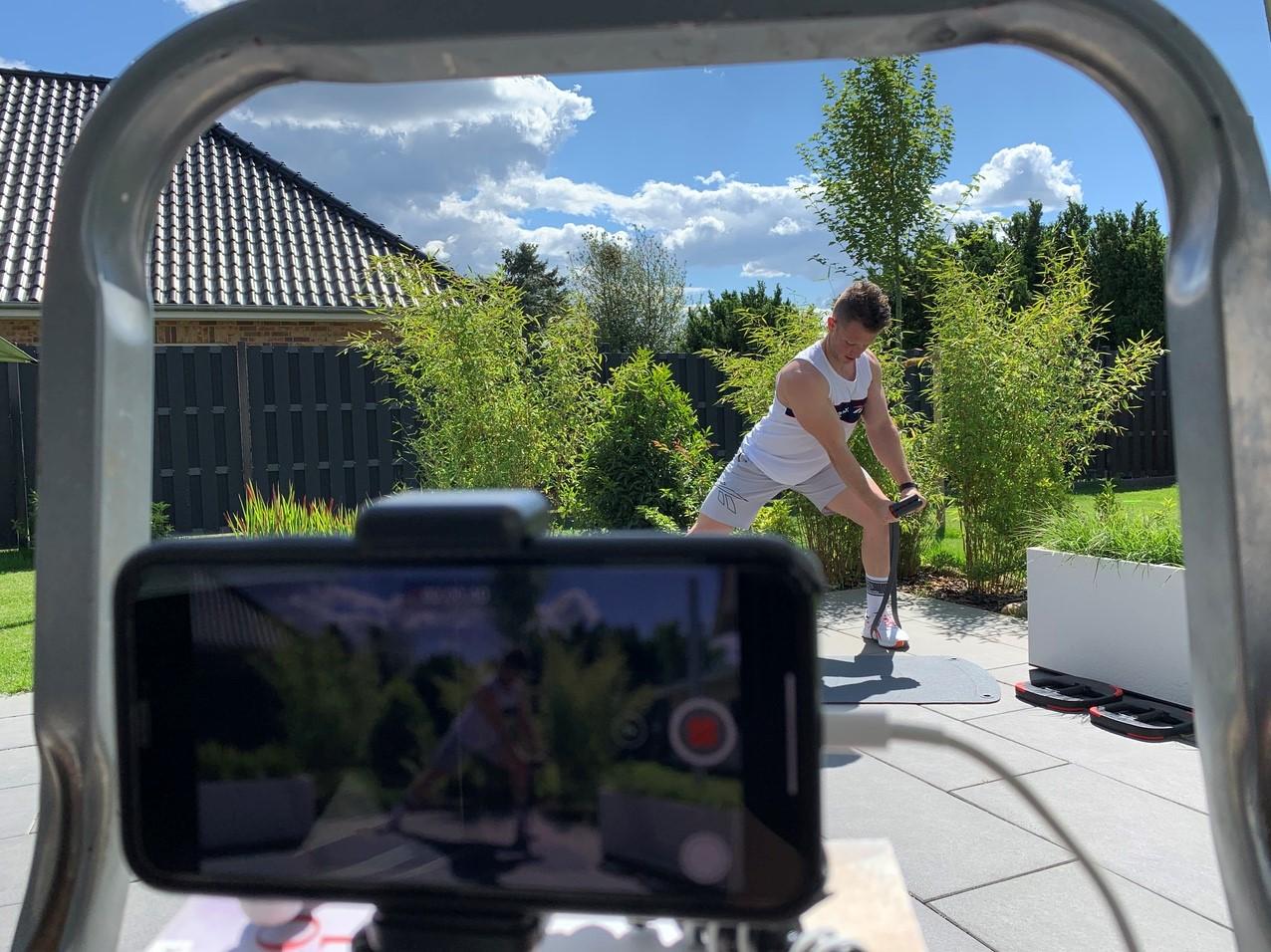 René - CXWORX UNITED Filming