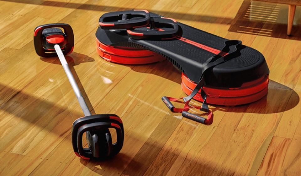 Les Mills étape SmartStep dont 4 contremarches Set poids bodypump