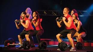 The BODYPUMP™ presenter team at Super Saturday in Stockholm