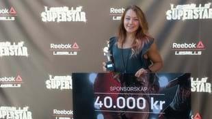 Les Mills SuperStar winner Hanna Lundh