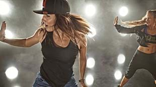 Lissa Bankston featuring in a Les Mills BODYJAM™ photoshoot