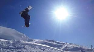 Corrah Phillips is New Zealand's 2014 National Junior snowboarding champion.