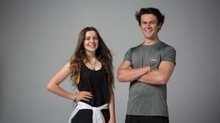 Corrah and her brother Taine, both BORN TO MOVE™ choreographers.