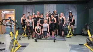 The team of Evergreen instructors celebrating New Years