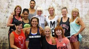 The BODYSTEP™100 presenter team.
