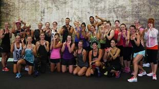 International visitors go behind the scenes with the BODYSTEP™ 100 team at Les Mills HQ.