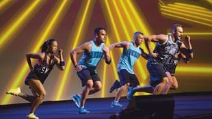 The plyometric sports training of BODYATTACK 88 will send your heart rate through the roof.