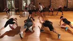 Les Mills GRIT fitness class participants