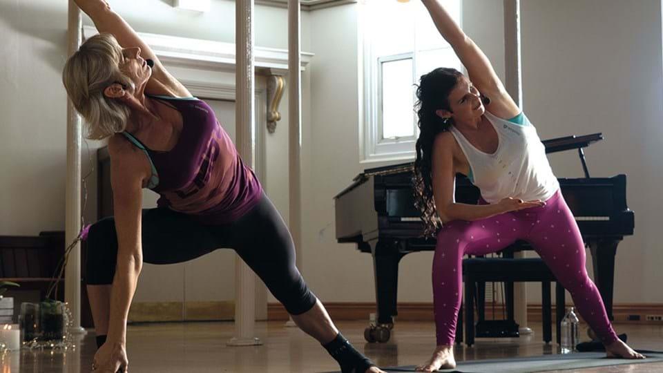 yoga and body