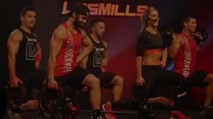 Emma nailed her presenting debut on BODYPUMP™ 92.
