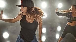 Lissa Bankston featuring in a Les Mills BODYJAM™ photoshoot
